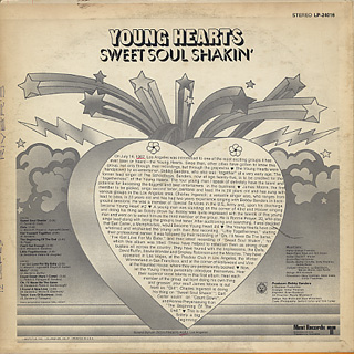 Young Hearts  / Sweet Soul Shakin' back