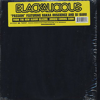 Blackalicious / Passion front