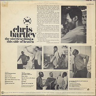 Chris Bartley / The Sweetest Thing This Side Of Heaven back