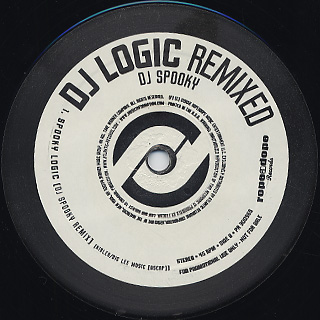 DJ Logic / Remixed back