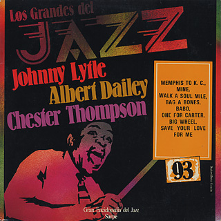 Johnny Lytle / Los Grandes Del Jazz front
