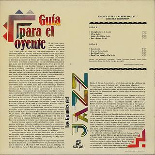 Johnny Lytle / Los Grandes Del Jazz back