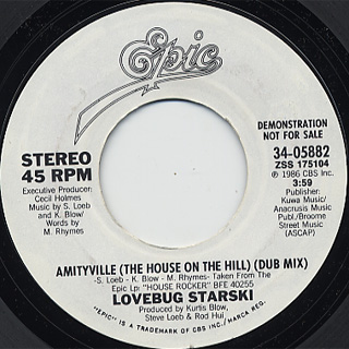 Lovebug starski amityville the house on the hill c w - House on the hill 2012 ...