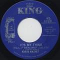 Marva Whitney / It's My Thing