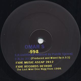 Omar-S / 998 back