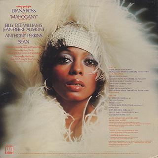 O.S.T.(Diana Ross) / Mahogany back