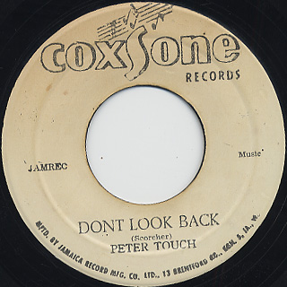 The Wailers Dancing Shoes Dont Look Back
