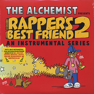 Alchemist / Rapper's Best Friend 2 front