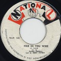 Bert Innis & Society Playboys / Fire In You Wire