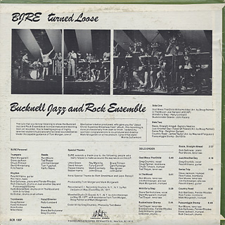 Bucknell Jazz And Rock Ensemble / Turned Loose back
