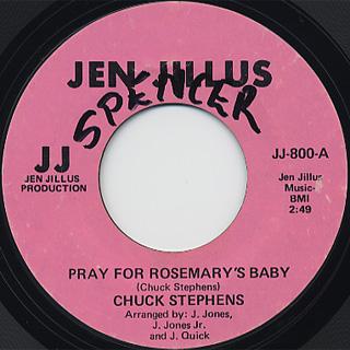 Chuck Stephens / Pray For Rosemary's Baby