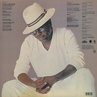 Curtis Mayfield / Love Is The Place back