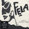 Fela Kuti / Live In Detroit 1986 (4LP)