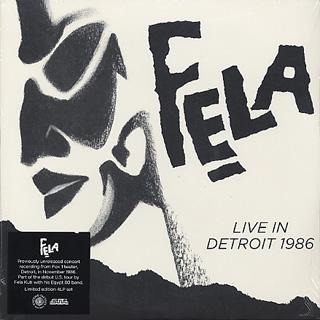Fela Kuti / Live In Detroit 1986 (4LP)