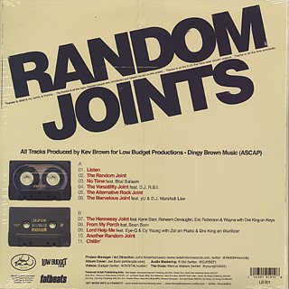 Kev Brown / Random Joints back