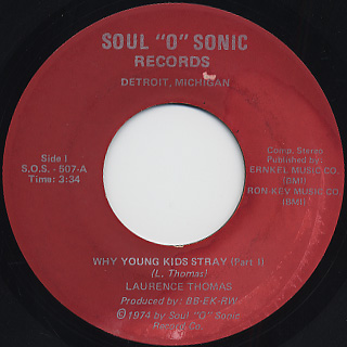 Laurence Thomas / Why Young Kids Stray