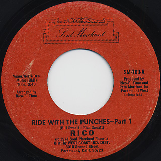 Rico / Ride With The Punches