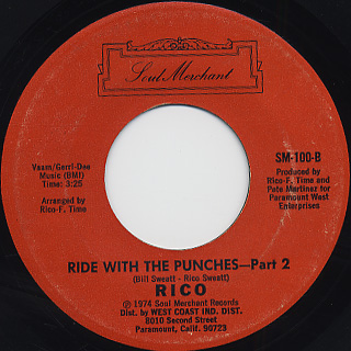 Rico / Ride With The Punches back