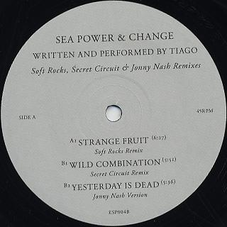 Sea Power And Change / Remix EP back