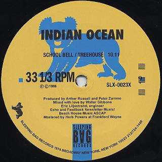 Indian Ocean / School Bell