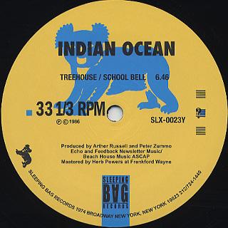 Indian Ocean / School Bell back