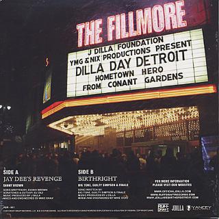 J Dilla / Jay Dee's Revenge b/w Birthright back