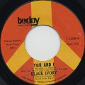 Black Ivory / You And I c/w Our Future ?