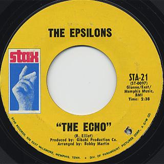 Epsilons / The Echo c/w Really Rockin'