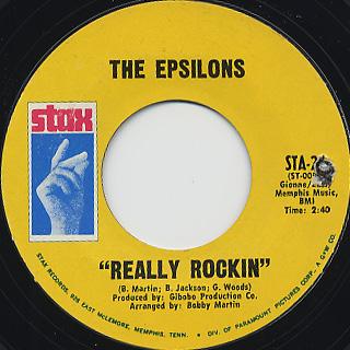 Epsilons / The Echo c/w Really Rockin' back