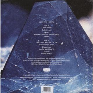 Julien Dyne / Glimpse (11 Tracks Album Sampler) back