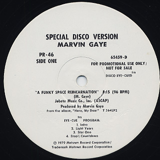 Marvin Gaye / A Funky Space Reincarnation back