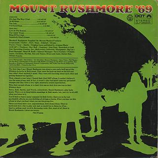 Mount Rushmore / '69 back