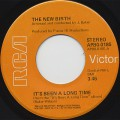 New Birth / It's Been A Long Time c/w Keep On Doin' It