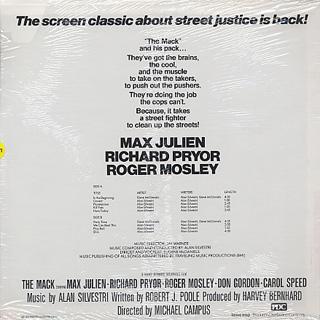 O.S.T.(Alan Silvestri / Eugene McDaniels) / The Mack back