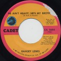 Ramsey Lewis / He Ain't Heavy, He's My Brother c/w Up In Yonder