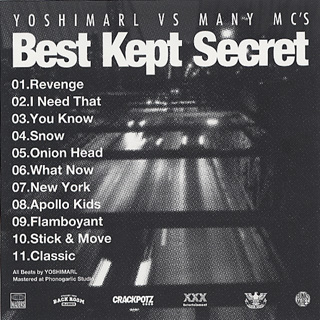 Yoshimarl / Best kept Secret back