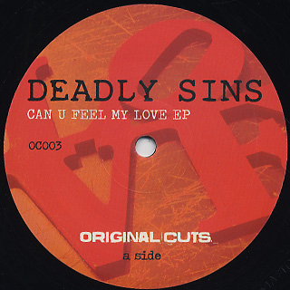 Deadly Sins / Can U Feel My Love EP front
