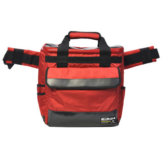 DIG4 / Rip-Stop 2way Vinyl Tote (Red)