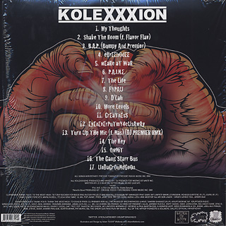 DJ Premier &#038; Bumpy Knuckles / Kolexxxion Instrumentals back