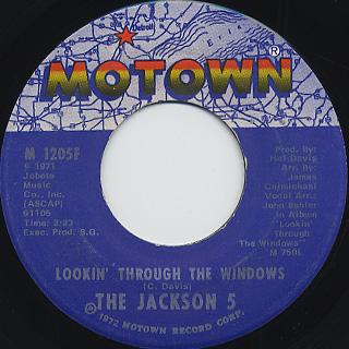 Jackson 5 / Lookin' Through The Window
