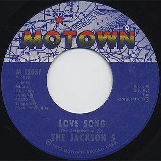 Jackson 5 / Lookin' Through The Window back