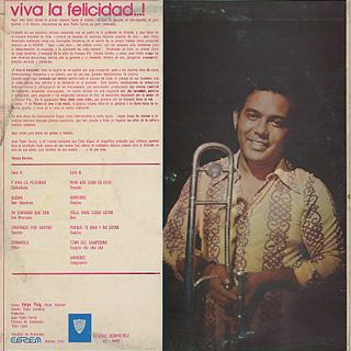 Juan Pablo Torres / Y viva La Felicidad...! back