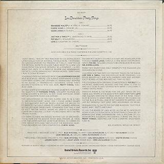 Lou Donaldson / Pretty Things back
