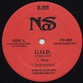 Nas / G.O.D. c/w The Cross