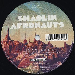 Shaolin Afronauts / Brooklyn back