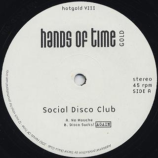 Social Disco Club / Na Mouche