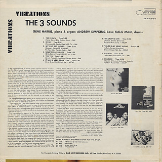 Three Sounds / Vibrations back