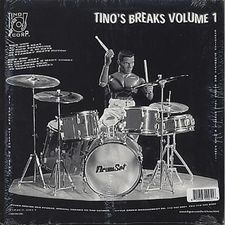 Tino / Tino's Breaks Volume I back