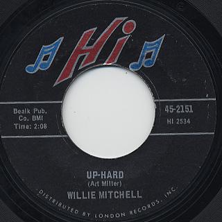 Willie Mitchell / Up-Hard