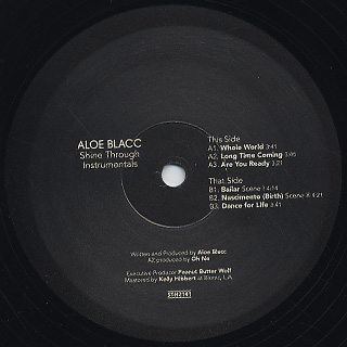 Aloe Blacc / Shine Through Instrumentals